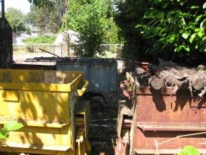Back Yard Mining Cars