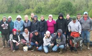 Vineyard Planting crew